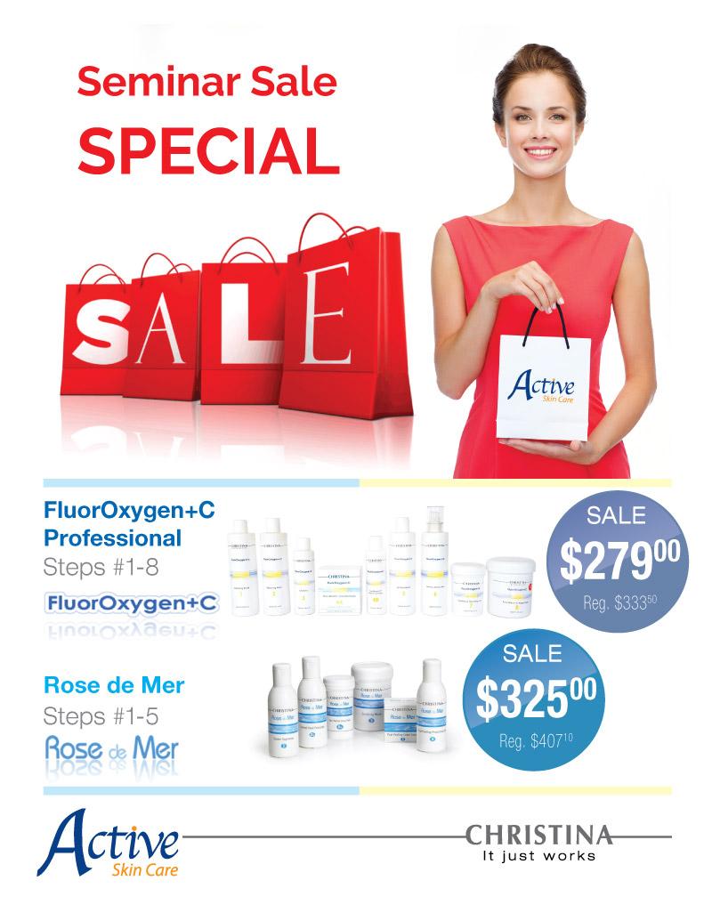 Seminar Sale Special